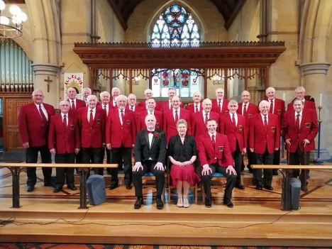 Rail male voice choir